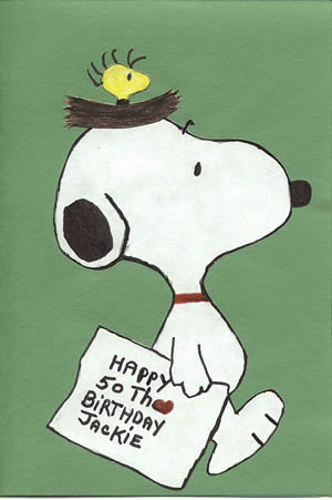 Snoopy Birthday Cards 2