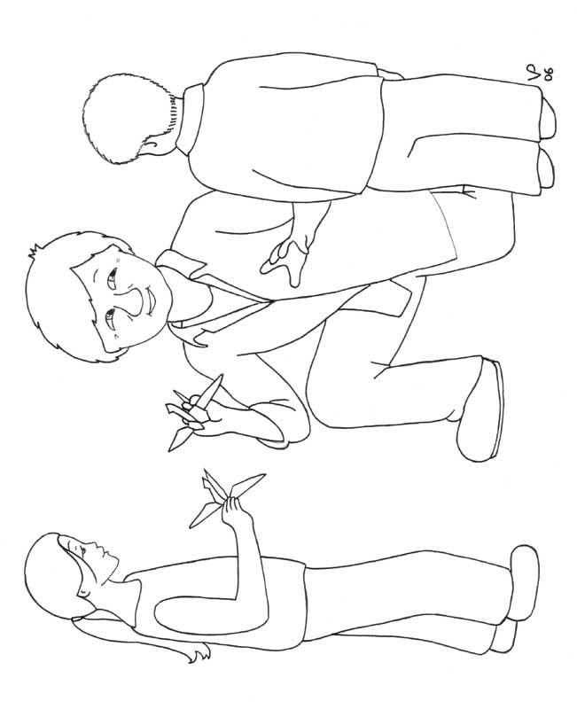h1n1 flu coloring pages - photo #15