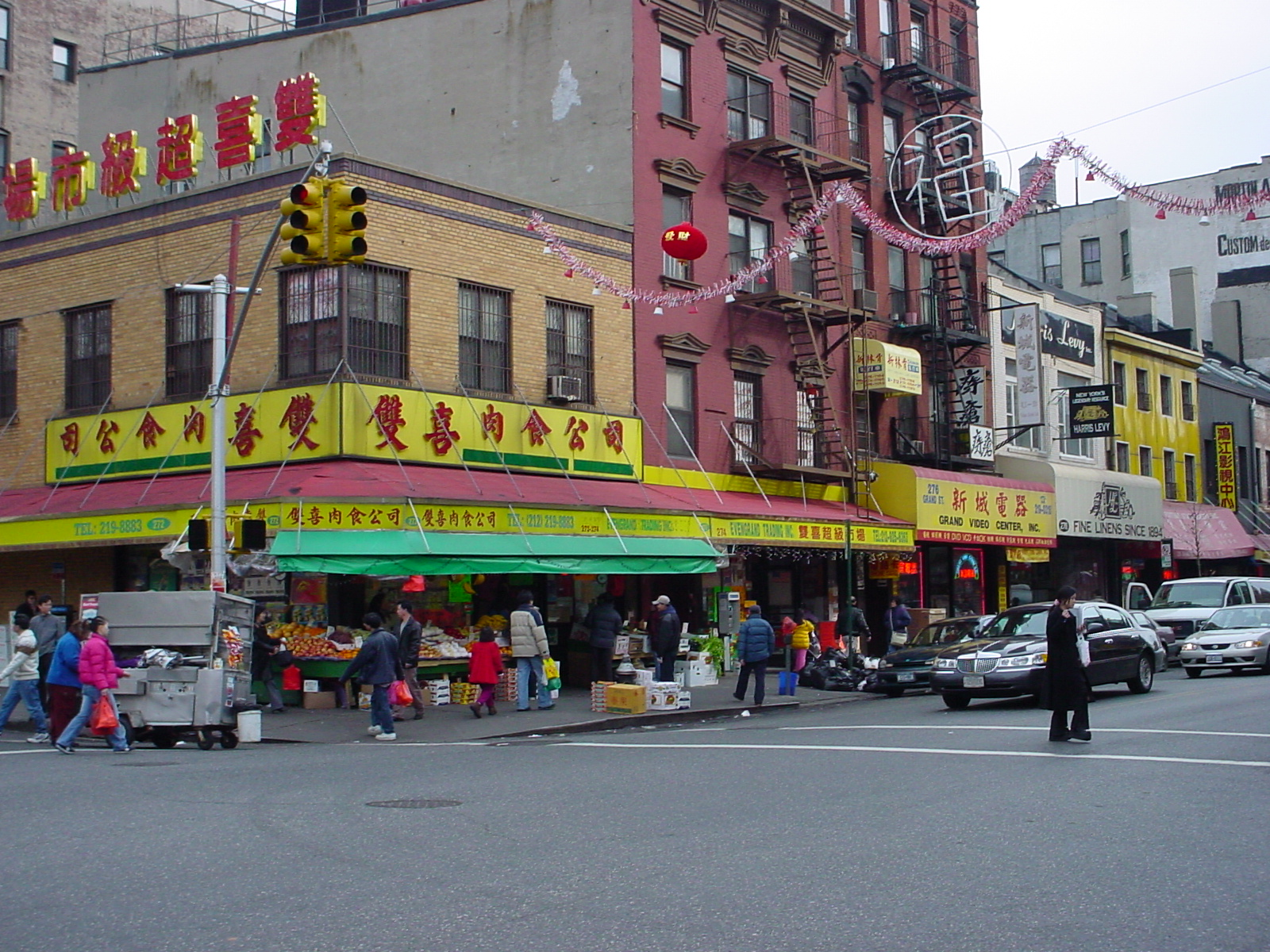 Chinese Restaurants In Chinatown New York City