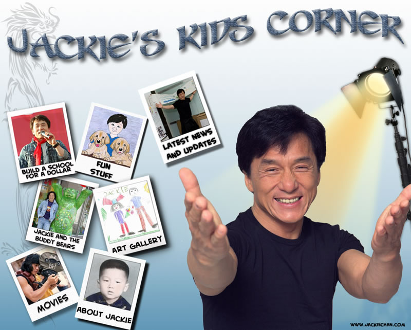 The Official Site of Jackie Chan - 96.3KB